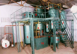 Vegetable Oil manufacturing equipment
